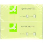 Q Connect Quick Sticky Note 40X50Mm Ylw (Pack of 12)